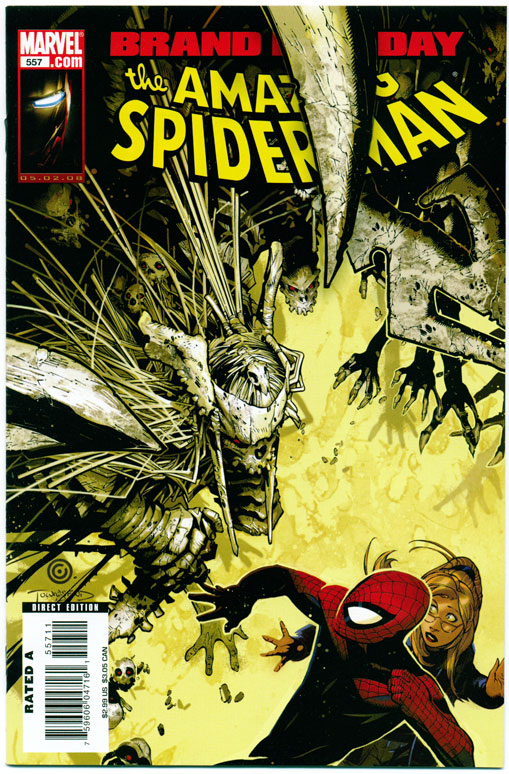AMAZING SPIDER-MAN#557