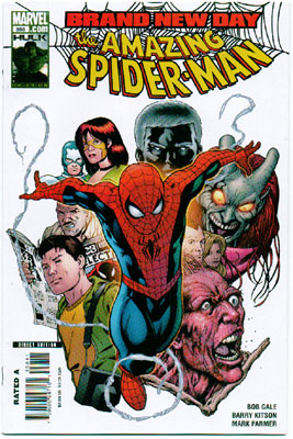 AMAZING SPIDER-MAN#558