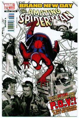 AMAZING SPIDER-MAN#564