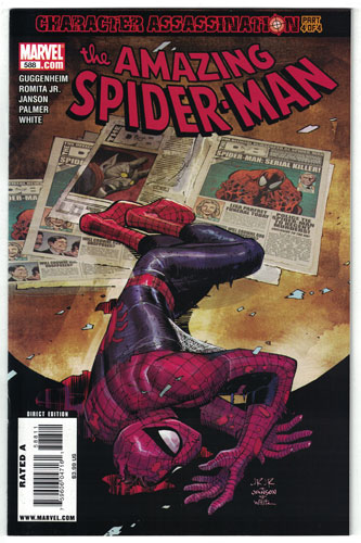 AMAZING SPIDER-MAN#588