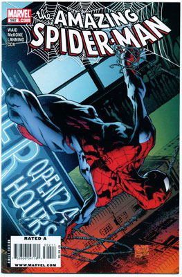 AMAZING SPIDER-MAN#592