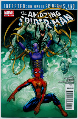 AMAZING SPIDER-MAN#663