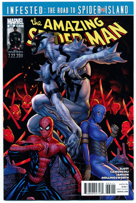 AMAZING SPIDER-MAN#664