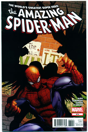 AMAZING SPIDER-MAN#674