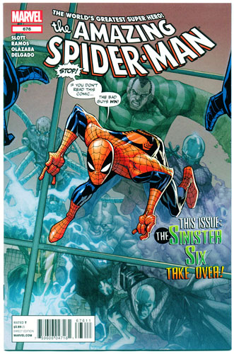 AMAZING SPIDER-MAN#676