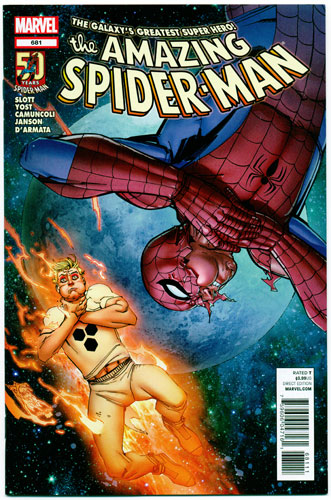 AMAZING SPIDER-MAN#681