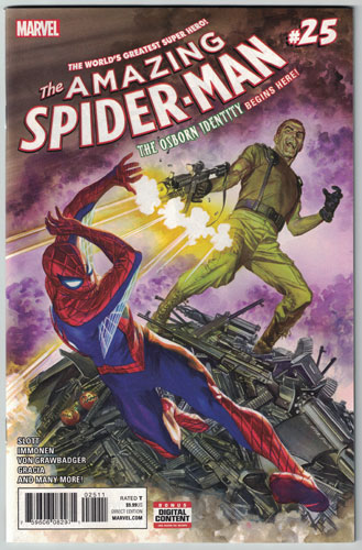 AMAZING SPIDER-MAN#25