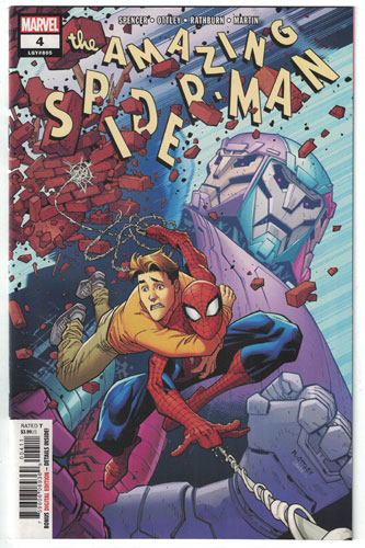 AMAZING SPIDER-MAN#4