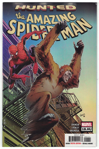 AMAZING SPIDER-MAN#18.HU