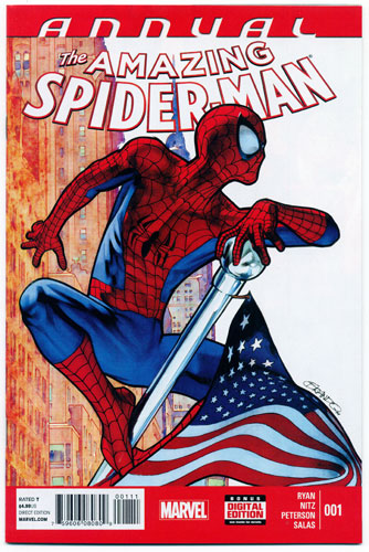 AMAZING SPIDER-MAN ANNUAL#1
