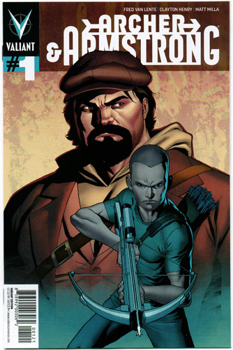 ARCHER AND ARMSTRONG#1