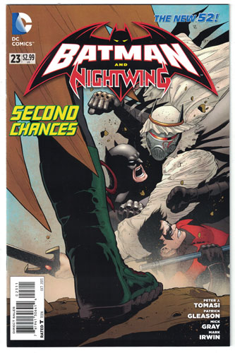 BATMAN AND ROBIN#23