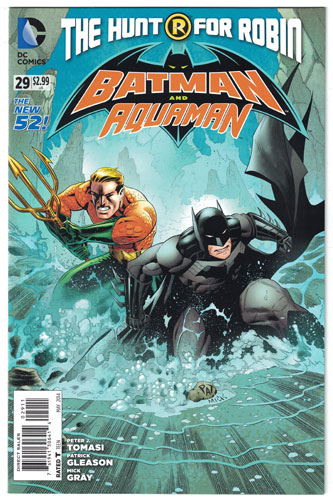 BATMAN AND ROBIN#29