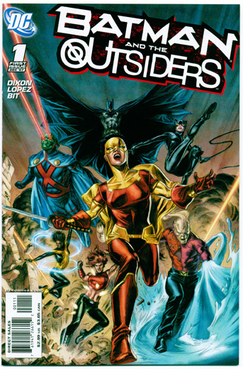BATMAN AND THE OUTSIDERS#1