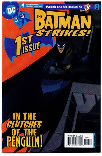 BATMAN STRIKES#1