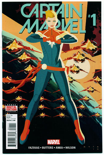 CAPTAIN MARVEL#1