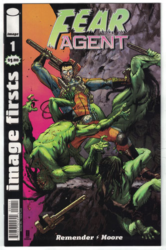 FEAR AGENT#1
