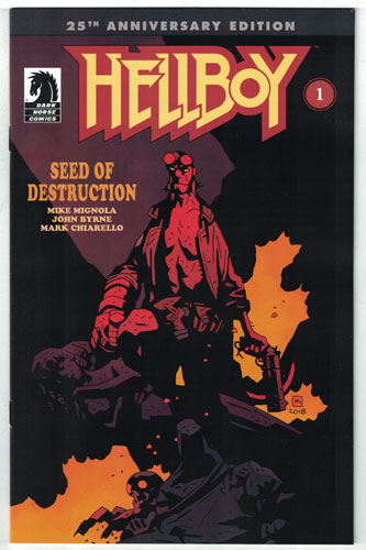 HELLBOY: SEED OF DESTRUCTION#1
