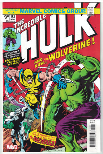 INCREDIBLE HULK#181
