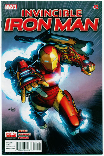 INVINCIBLE IRON MAN#2