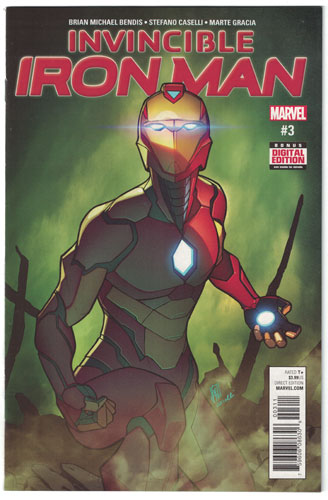 INVINCIBLE IRON MAN#3