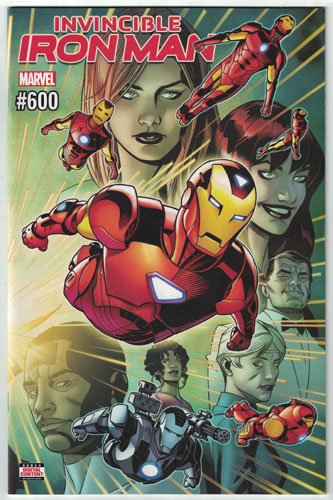 INVINCIBLE IRON MAN#600