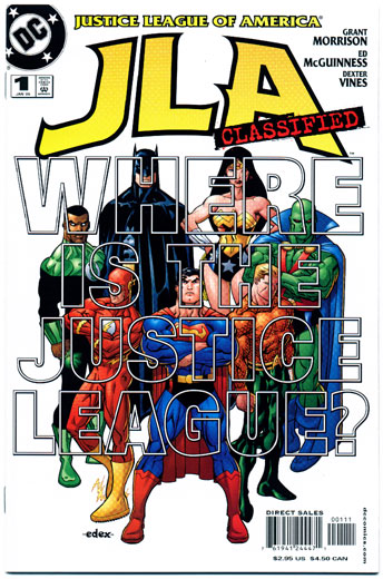 JLA: CLASSIFIED#1