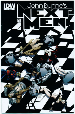JOHN BYRNE'S NEXT MEN#1