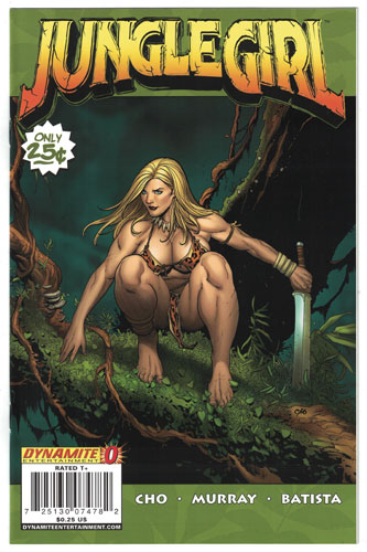 JUNGLE GIRL#0