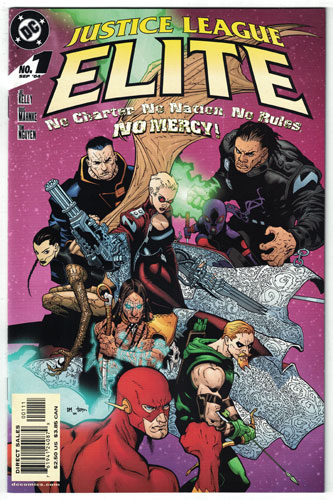 JUSTICE LEAGUE ELITE#1