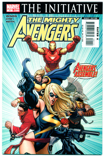 MIGHTY AVENGERS#1