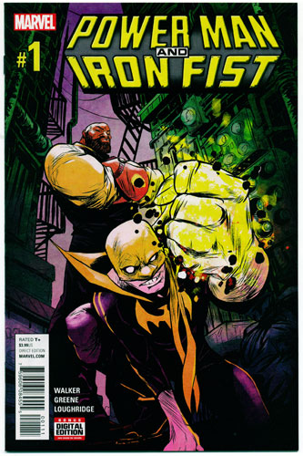 POWER MAN AND IRON FIST#1