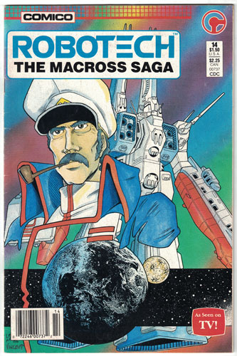 ROBOTECH: THE MACROSS SAGA#14
