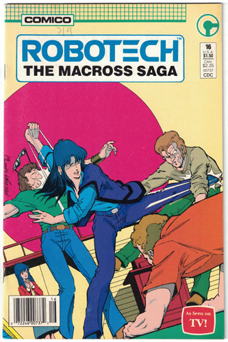 ROBOTECH: THE MACROSS SAGA#16