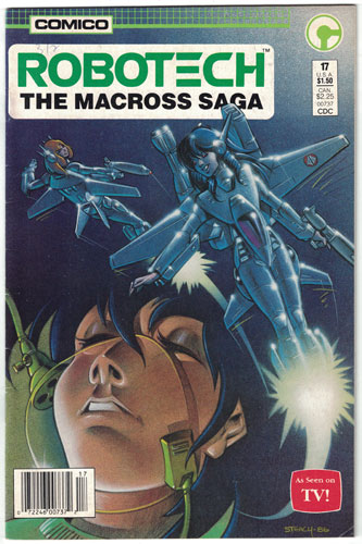 ROBOTECH: THE MACROSS SAGA#17