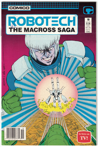 ROBOTECH: THE MACROSS SAGA#19