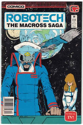 ROBOTECH: THE MACROSS SAGA#20
