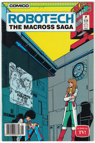 ROBOTECH: THE MACROSS SAGA#21