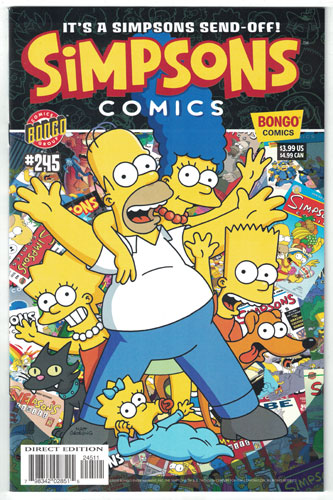 SIMPSONS COMICS#245