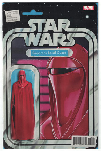 STAR WARS 49 CHRISTOPHER EMPERORS ROYAL GUARD ACTION FIGURE VARIANT NM