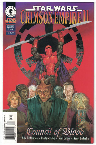 STAR WARS CRIMSON EMPIRE II: COUNCIL OF BLOOD#1