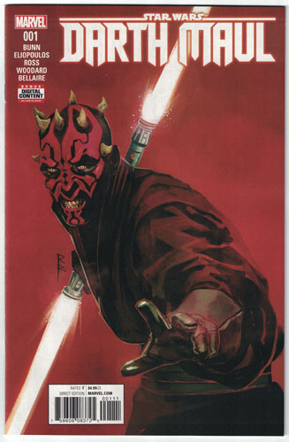 Key Storyline cover 4 for DARTH MAUL