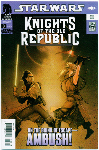 STAR WARS: KNIGHTS OF THE OLD REPUBLIC#3