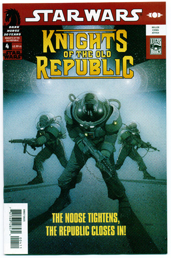 STAR WARS: KNIGHTS OF THE OLD REPUBLIC#4