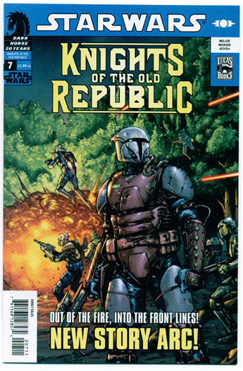 STAR WARS: KNIGHTS OF THE OLD REPUBLIC#7