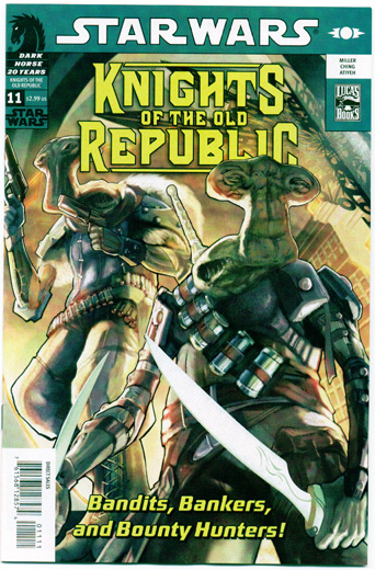STAR WARS: KNIGHTS OF THE OLD REPUBLIC#11
