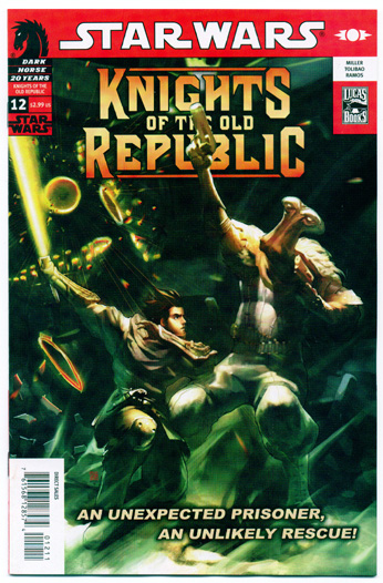 STAR WARS: KNIGHTS OF THE OLD REPUBLIC#12