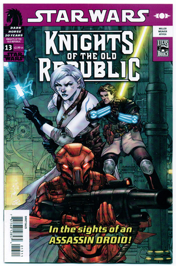 STAR WARS: KNIGHTS OF THE OLD REPUBLIC#13