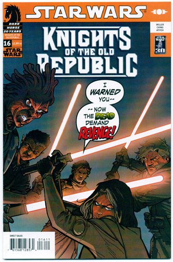 STAR WARS: KNIGHTS OF THE OLD REPUBLIC#16