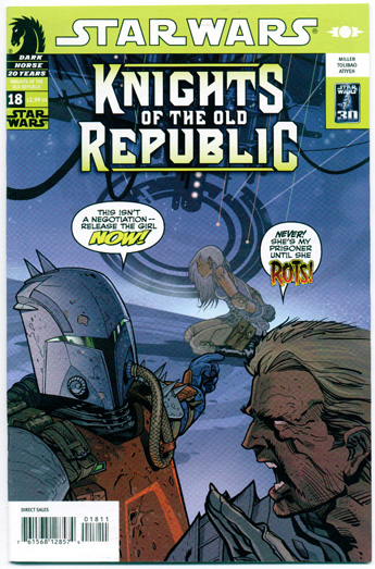 STAR WARS: KNIGHTS OF THE OLD REPUBLIC#18